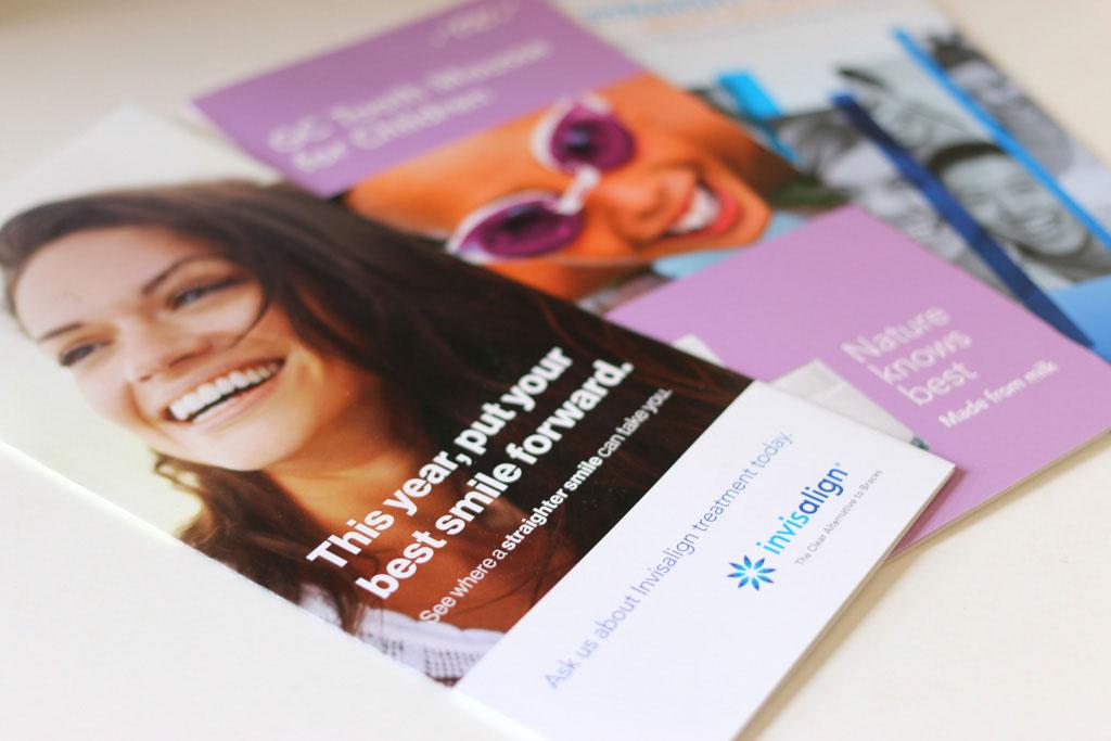 dental booklet invisalign